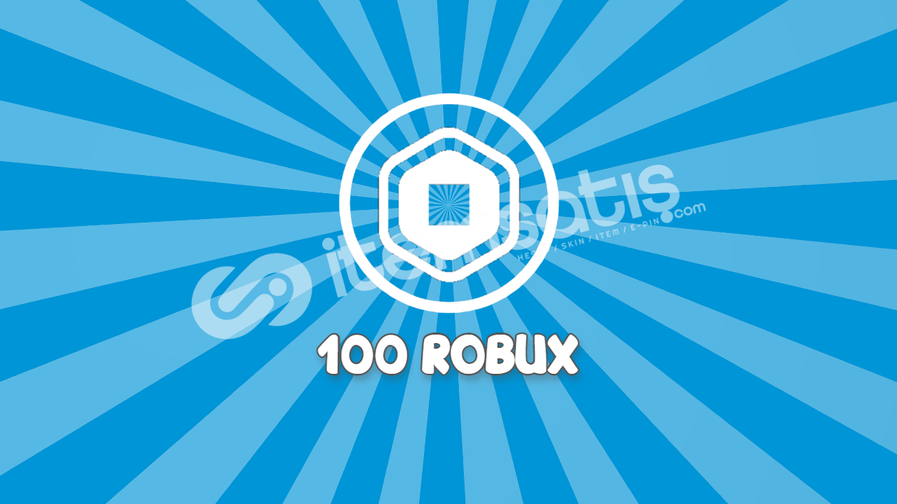 Roblox 100 Robux gift card