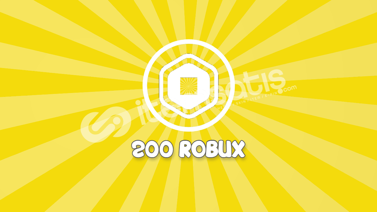 Roblox 200 Robux gift card