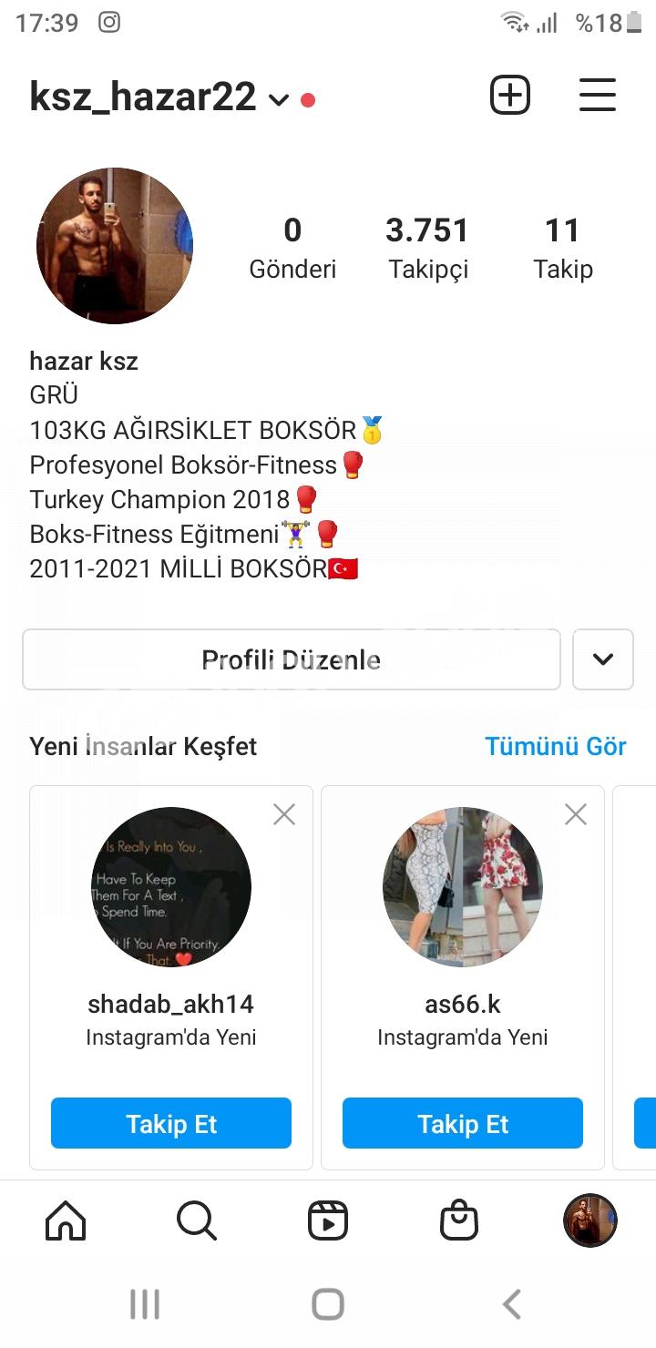4K Kışısel Instagram Hesabi