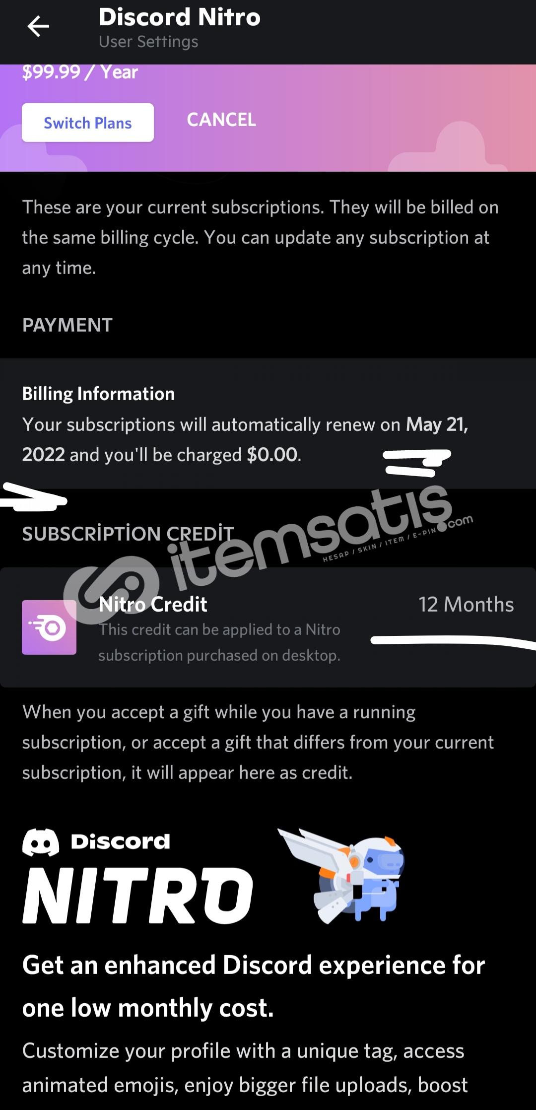 2 yıllık boostlu hesap