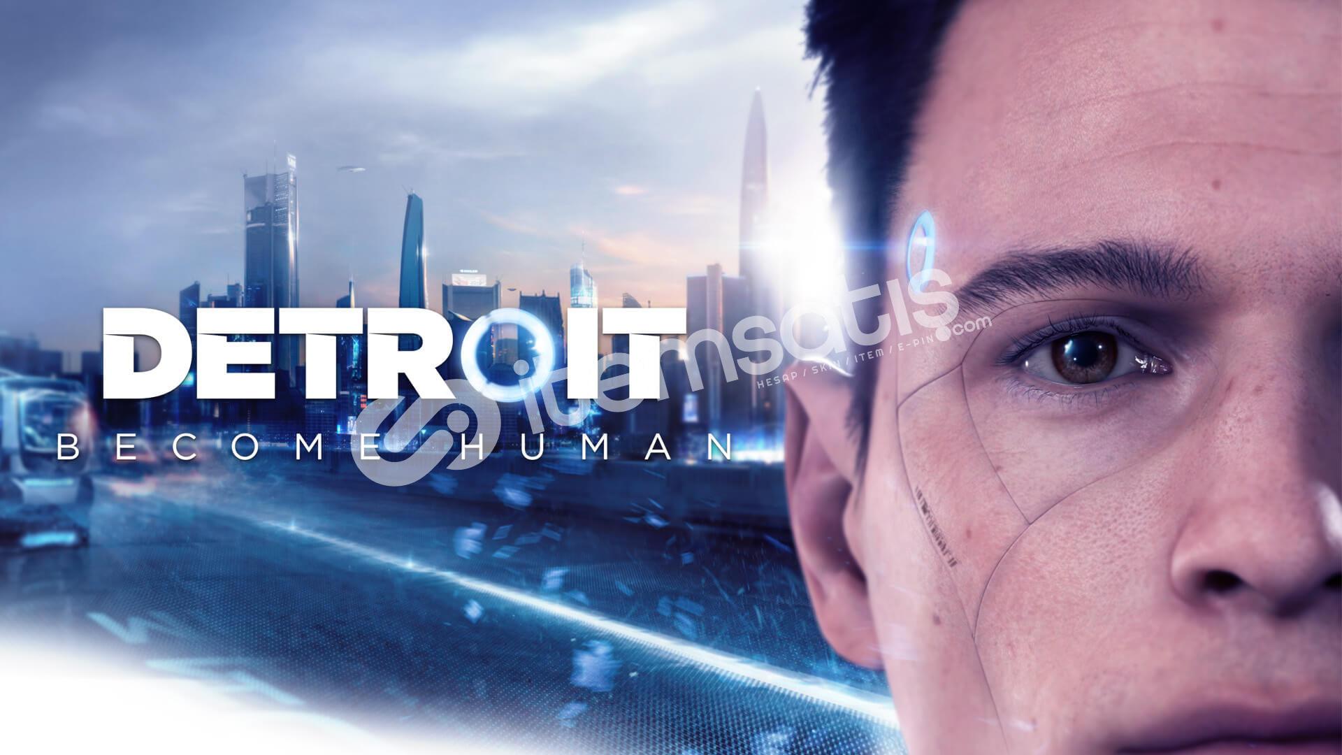 Detroit Become Human Offline Steam Hesap + Garanti