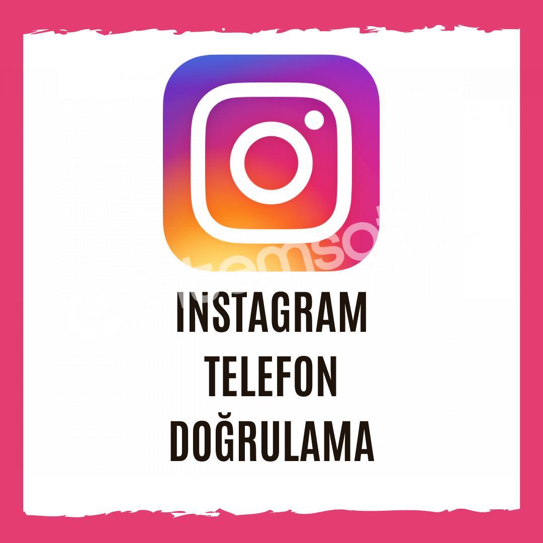 Instagram Telefon Doğrulama - İstediğiniz Ülkeden Onay Alın