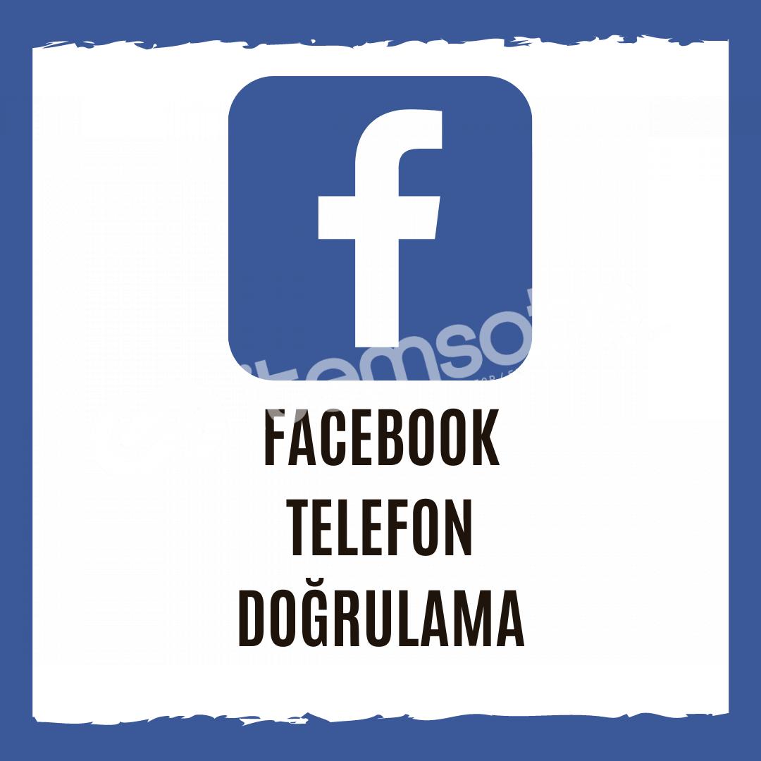 Facebook Telefon Doğrulama - İstediğiniz Ülkeden Onay Alın