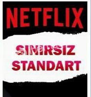 Sınırsız Netflix standart sınırsız hesaplardır
