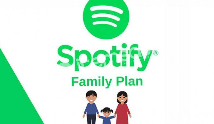 Spotify Aile Hesabı 4 kişilik