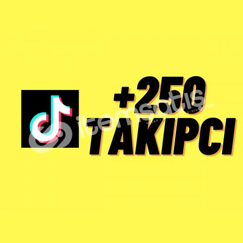 TİKTOK 250 TAKİPÇİ + ANLIK GÖNDERİM