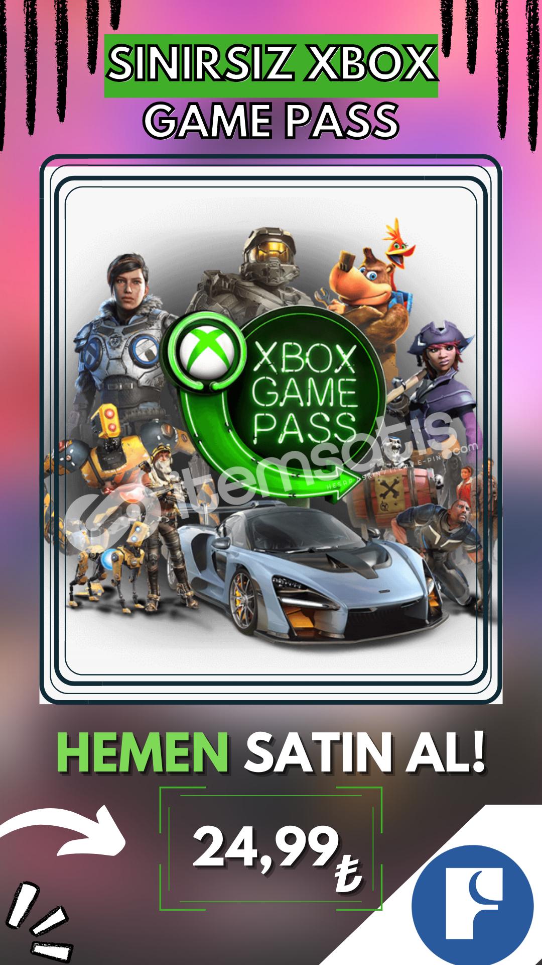 XBOX SINIRSIZ GamePass + Garanti!
