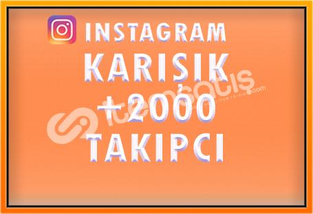 2000 KARIŞIK TAKİPÇİ - [ÖZEL FİYAT]