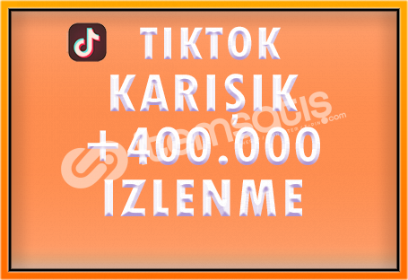 400.000 TIKTOK IZLENME - [ÖZEL FİYAT]