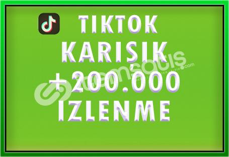 200.000 TIKTOK IZLENME - [ÖZEL FİYAT]