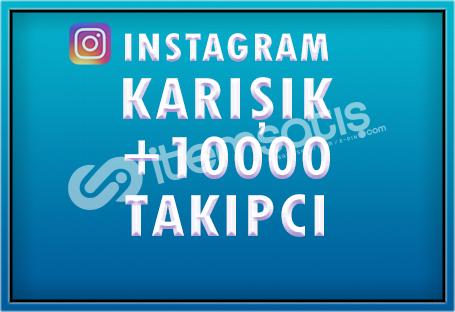 10.000 KARIŞIK TAKİPÇİ - [ÖZEL FİYAT]