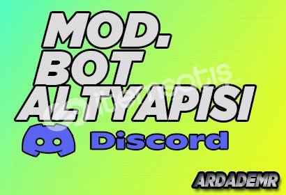 Discord Bot | v12 Moderasyon Bot Altyapısı Kodlanır