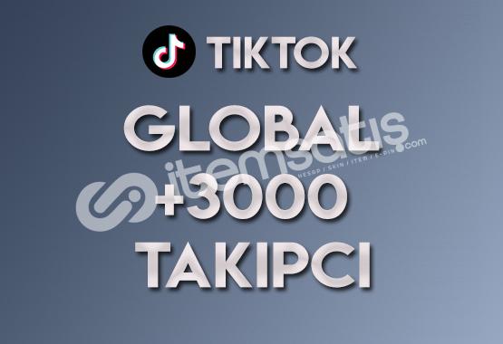 3.000 Global Takipçi | ANLIK
