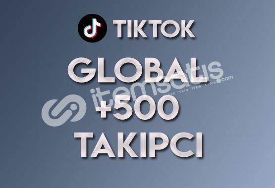 500 Global Takipçi | ANLIK