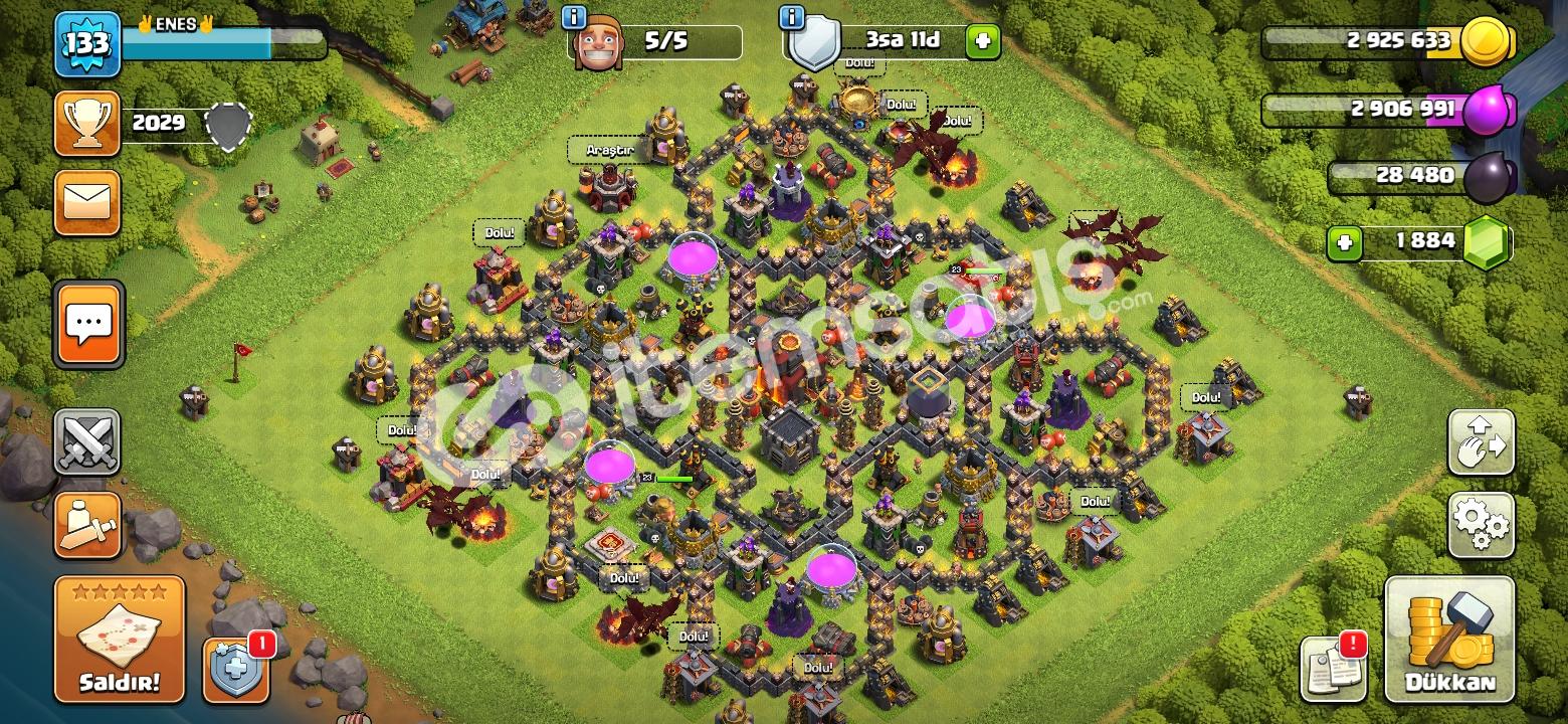 Clash Of Clans BB10 1 880 ELMAS