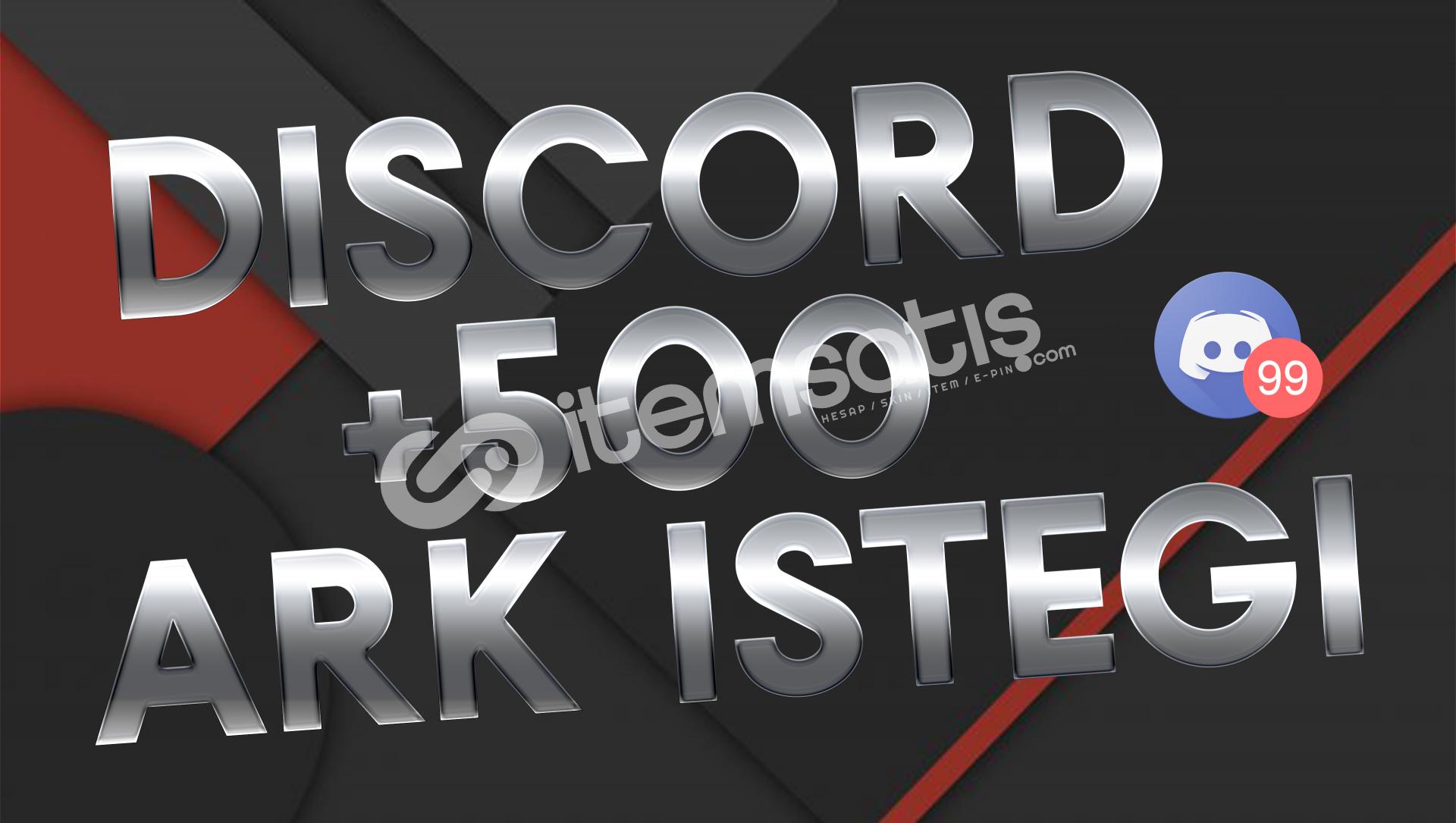 Discord 500 Adet Arkadaşlık İsteği
