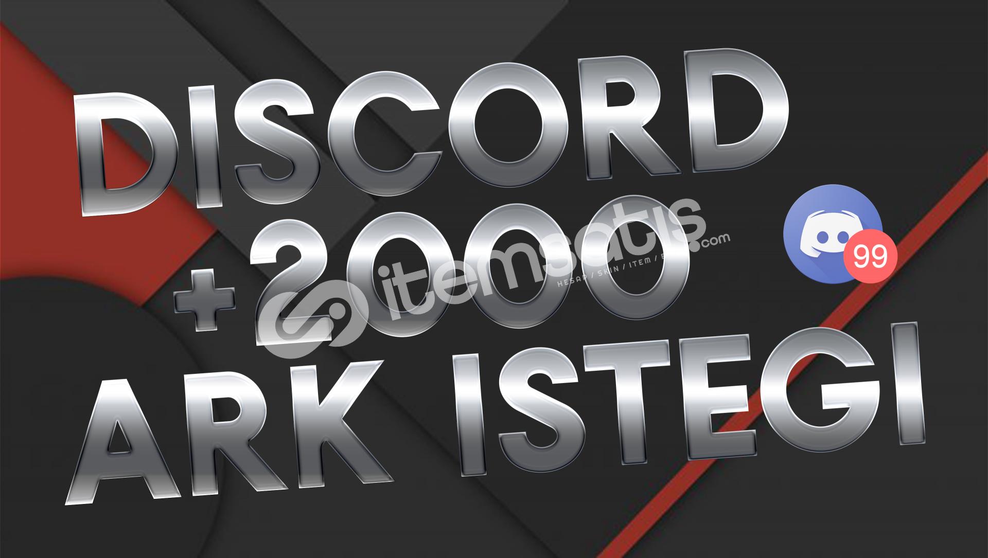 Discord 2000 Adet Arkadaşlık İsteği