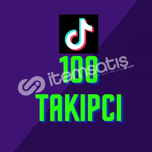 Tiktok 100 Takipçi + Anlık