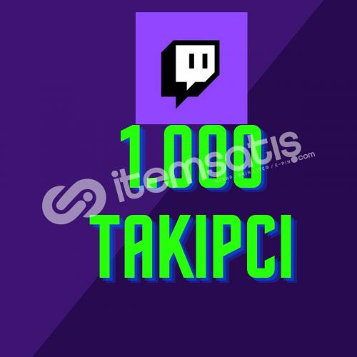 Twitch 1.000 Takipçi + Hızlı Teslimat