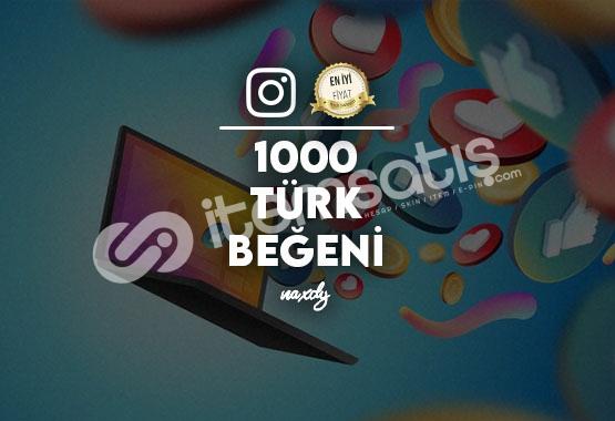 Instagram 1000 Adet Türk Beğeni