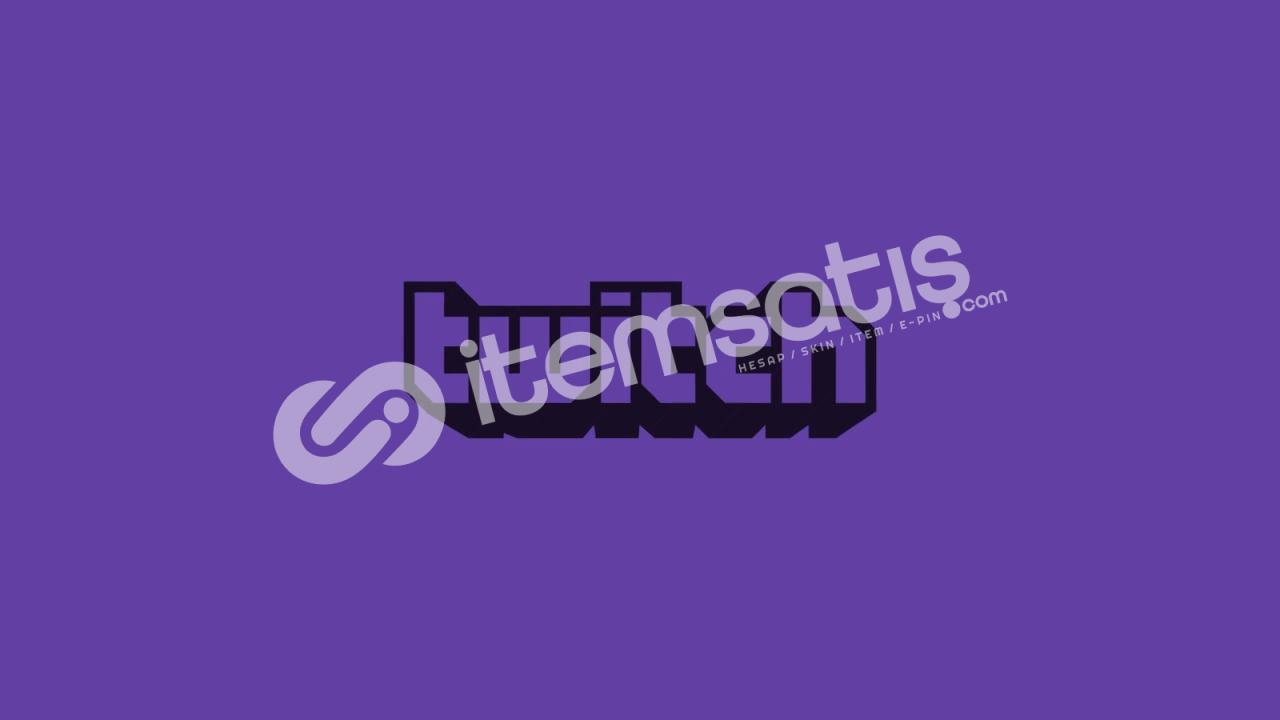 Twitch 1.000 Adet Takipçi
