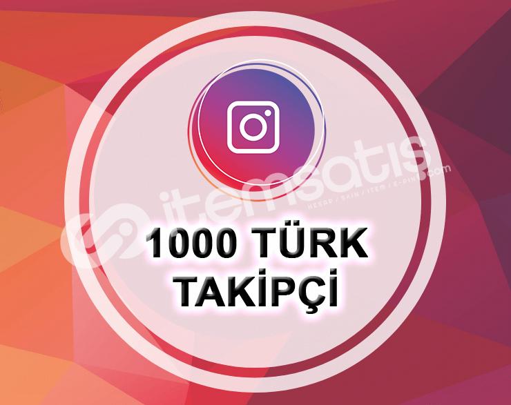 İNSTAGRAM 1000 TÜRK GERÇEK TAKİPÇİ