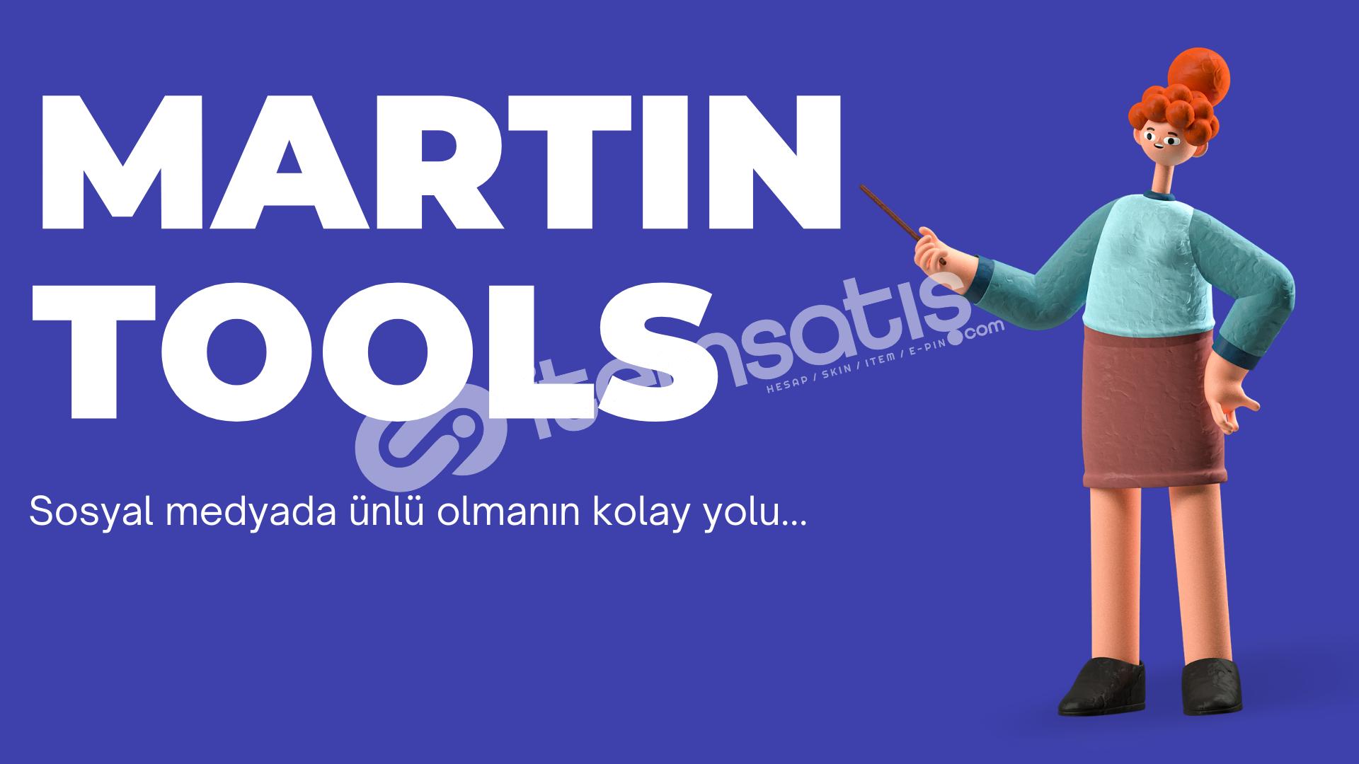 Martin Tools 1 Aylık Abonelik