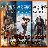 AssassinsCreed Valhalla+Origins+Odyssey