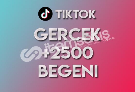 2.500 Tiktok Beğeni (KEŞFET ETKİLİ)