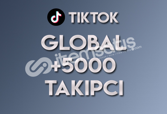 5.000 Global Takipçi | ANLIK
