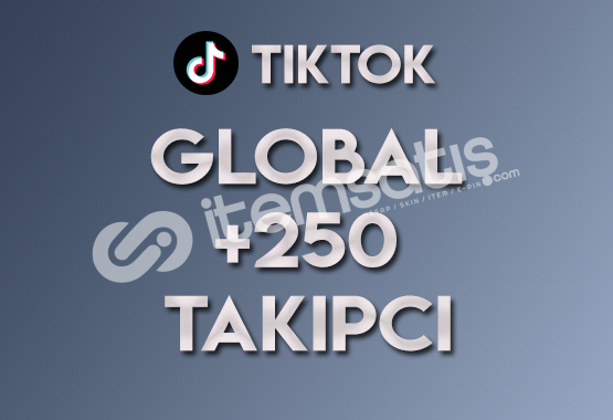 250 Global Takipçi | ANLIK