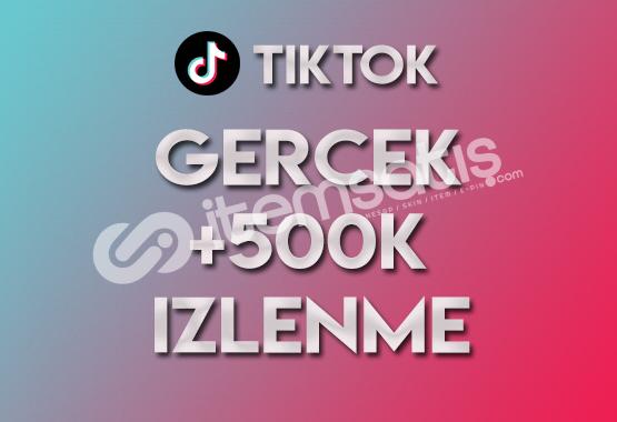 500.000 Tiktok İzlenme (KEŞFET ETKİLİ)