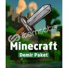 Minecraft Demir Hesap Şok Fiyata