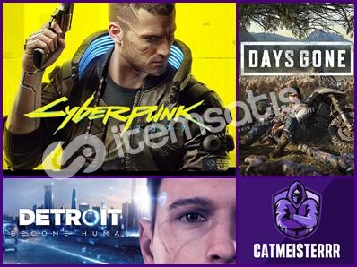 Cyberpunk + Detroit + Days Gone