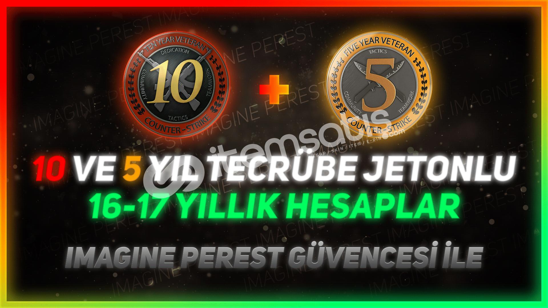 17 YILLIK   2 JETON   FACEİT KURULMAMIŞ   +DESTEK
