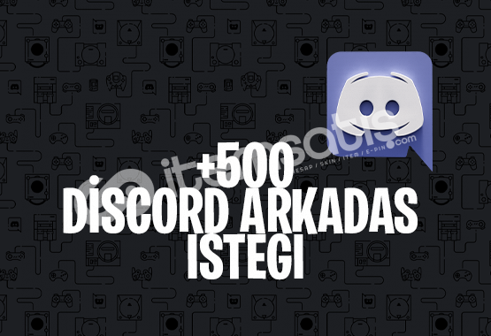 +500 DISCORD ARKADAŞ İSTEĞİ