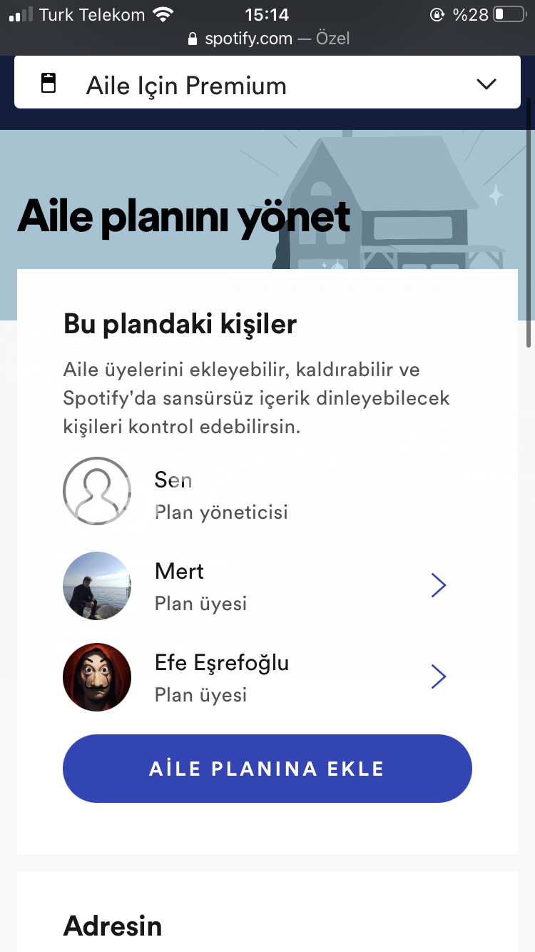 Spotify 1 Aylık Premium