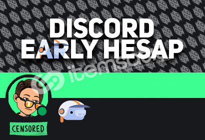 Discord Early Supporter Rozetli Hesap! (2 ID)