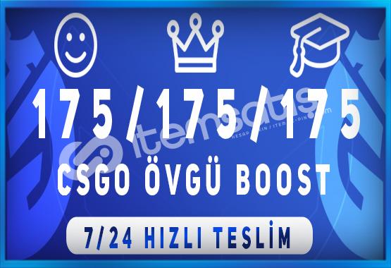 YEŞİL FAKTÖR ! 525 ADET CS:GO ÖVGÜ BOOST HİZMETİ !