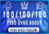 KAÇIRMA ! 300 ADET ÖVGÜ BOOST HİZMETİ 7/24 HIZLI TESLİM !
