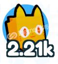 Pet Simulator X 2.2K Gücünde Pet