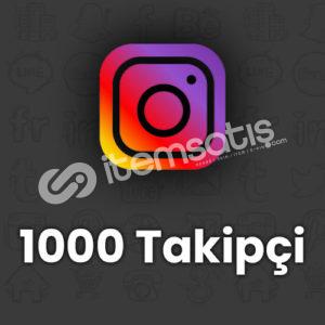 1000 Instagram Türk Takipçi