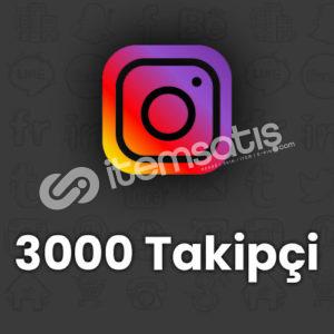 3000 Instagram Türk Takipçi
