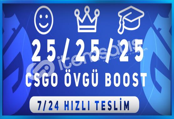 EFSANE ! 75 ADET ÖVGÜ BOOST HİZMETİ 7/24 HIZLI TESLİM !