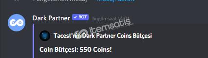 Dark partner 300 coin
