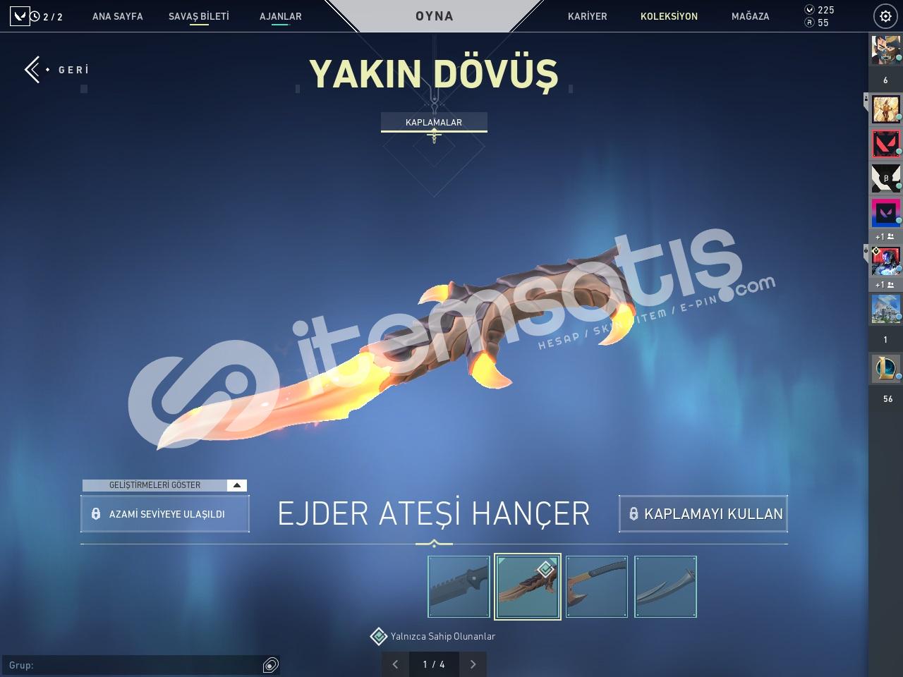 1100 TL YATIRILDI - EJDER BIÇAK OP - 3 VANDAL - 3 PHANTOM
