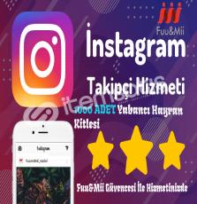 Instagram Yabancı Takipçi Kitlesi - 1000 Adet