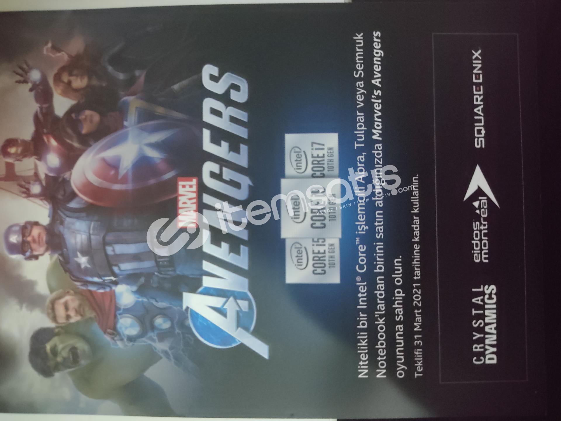 Marvel Avenger CD Key