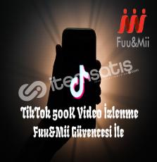 TikTok 500 Bin Adet Video İzlenme