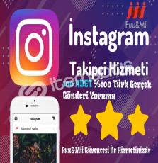 Instagram Türk Gerçek Gönderi Yorumu - 100 ADET